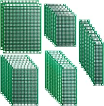 5x 6.5x14.5cm Stripboard Veroboard Uncut PCB Platine Single Side Circuit Boar Fd