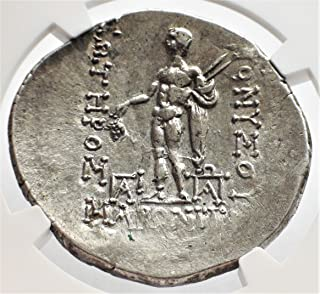 GR 2nd-1st Centuries BC Greece Ancient Thrace Antique Silver Authenticated Coin Greek Coins AR Tetradrachm About Uncirculated NGC