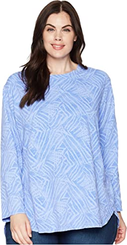 Plus Size Ocean Tide Catalina Top