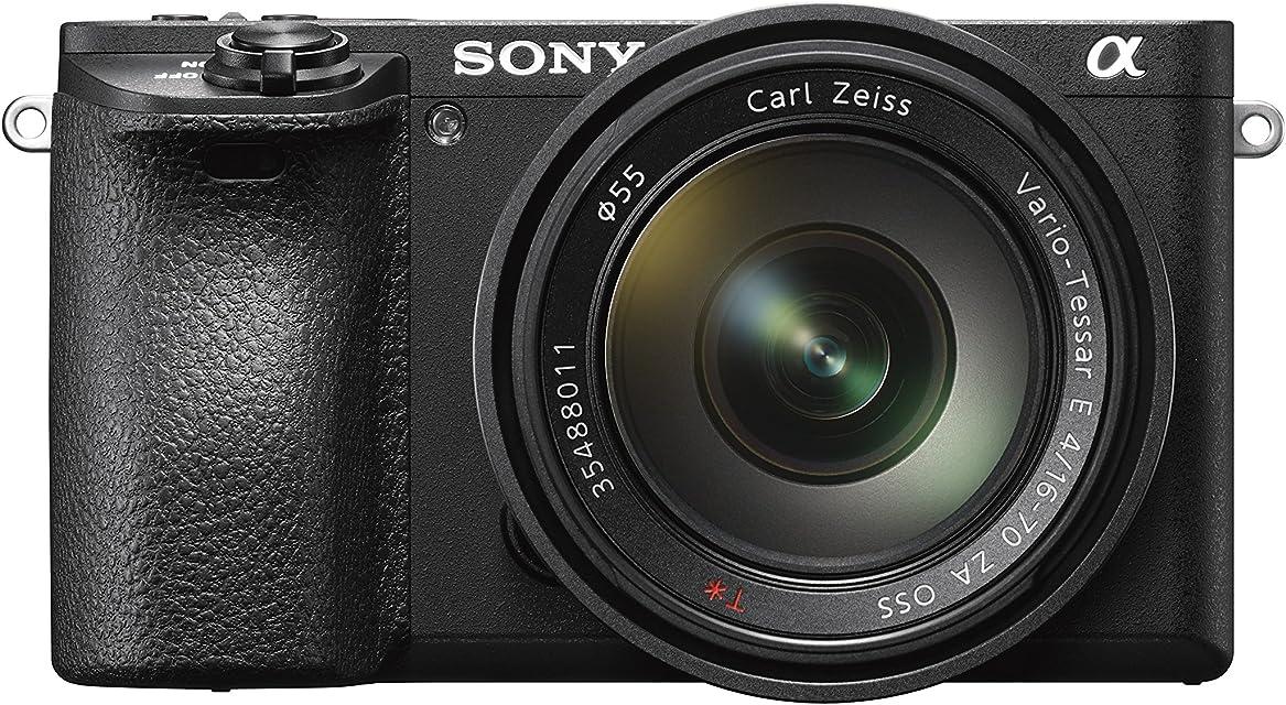 Sony Alpha ILCE6500ZBDI - Cámara (24.2 MP 11fps 5 ejes AF de 0.05 s con montura E 425 puntos de enfoque pantalla táctil) color negro - kit cuerpo con lente Zeiss 16 - 70 mm