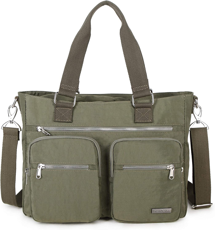 La Packmore Water Repellent Nylon Shoulder Handbag Bag Laptop Discount mail order Excellence Ba