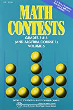 math league algebra 1 contest