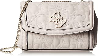 GUESS Women's New Wave Mini Convertible Xbody, Moonstone - VG747578