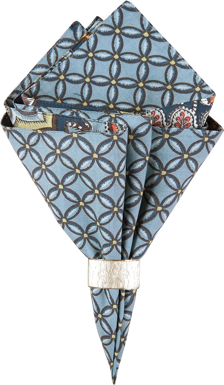 CF Home 新作販売 Middleton Blue Paisley Mac Green Cotton 正規逆輸入品 Print Geometric