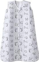 Halo 100% Cotton Muslin Sleepsack Wearable Blanket, Grey Dogs, X-Large