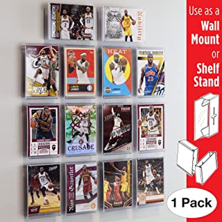 Card Mount Trading Cards Stand and Wall Mount, Invisible Display for Collectible Cards, 1 Pack