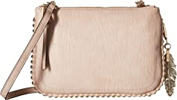 Jessica Simpson Camile Double Top Zip Crossbody