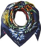 Echo Design Blooms Of Oceania Silk Square