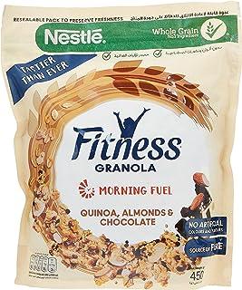 Nestle Fitness Granola With Quinoa, Almonds & Chocolate Breakfast Cereal, 2 x 450 gm