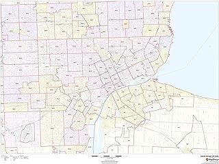 Detroit, Michigan Zip Codes - 48