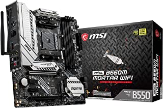 MSI MAG B550M MORTAR WIFI マザーボード MicroATX [AMD B550 チップセット搭載] Ryzen 5000 シリーズプロセッサー MB5029