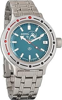Vostok Amphibian Military Russian Diver Watch Scuba Dude Blue 2416/420059