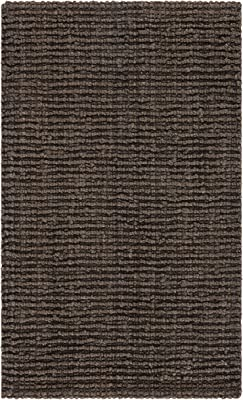 Safavieh Natural Fiber Collection Nf447d Handmade Chunky Textured Premium Jute 0 75 Inch Thick Area Rug 3 X 5 Brown Furniture Decor