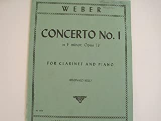 Concerto No. 1 in F Minor, Opus 73 for Clarinet and Piano