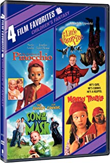 4 Film Favorites: New Line Family (The Adventures of Pinocchio / The Little Vampire / Monkey Trouble / Son of the Mask)