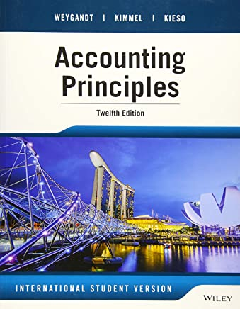 Accounting Principles, 12th Edition International Student Version