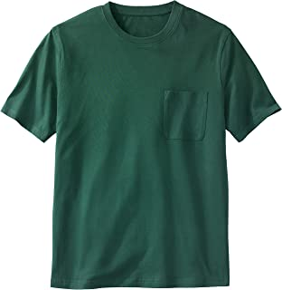 KingSize Men's Big & Tall Shrink-Less Lightweight Pocket Crewneck T-Shirt