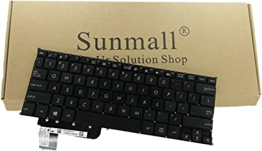 SUNMALL Laptop Replacement Keyboard Without Frame for ASUS X200 X201E X202E Q200 Q200E S200 S200E R200 R200E R201E F201E R202E Series, US Layout Black Color (6 Months Warranty)