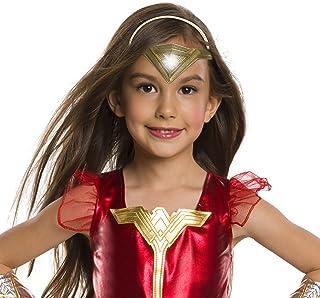 285d7f0c6b Rubie s Costume Company 34384 NS Girls Justice League Wonder Light-Up Tiara  Costume