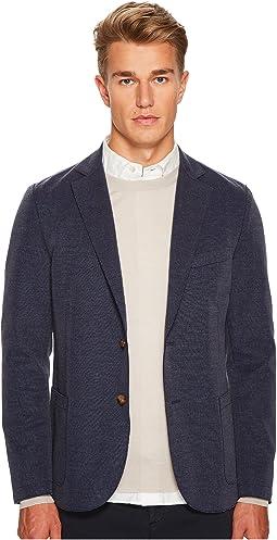 Laser Cut Jersey Jacket