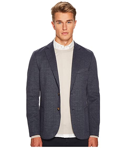 eleventy Laser Cut Jersey Jacket