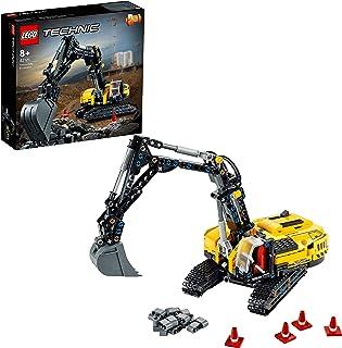 LEGO 42121 Technic Zware Graafmachine naar Tractor, 2in1 Model, Digger Bouwvoertuig Creatief Speelgoed vanaf 8+