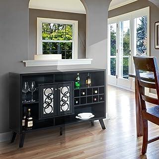 Amazon Com Liquor Bars Wine Cabinets Home Bar Furniture Home