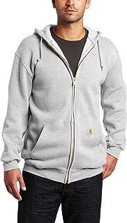 Men's MidWeight Hooded Zip Front Sweatshirt ,Heather...