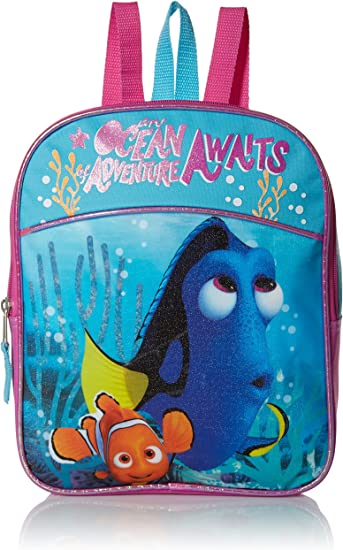 Official Disney Pixar Finding Dory Pocket Backpack Rucksack Nursery School Bag