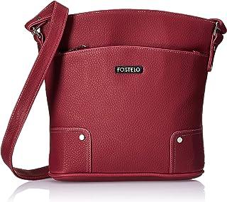 Fostelo Women's Marlyn Handbag (Maroon)