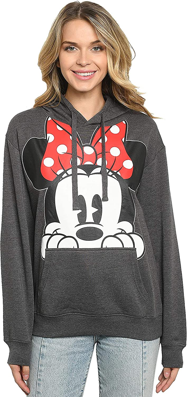 Disney Women Hoodie Minnie Pullover Sweatshirt 2021new Ranking TOP4 shipping free Peeking Mouse