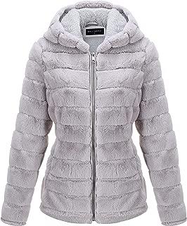 Best faux fur coat with hood Reviews