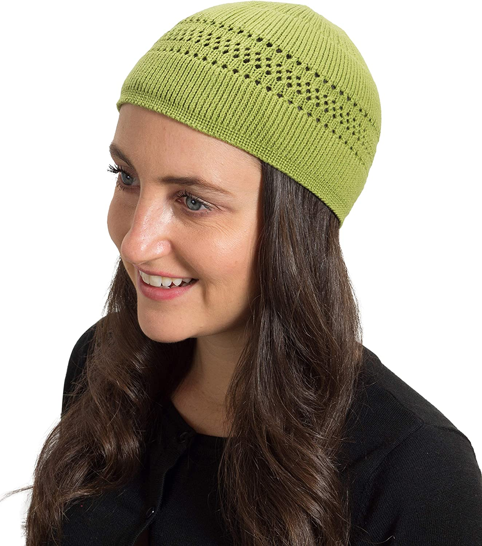 IYIFOO Montclair State University Logo Unisex Thin Winter Warm No-Brimmed Knitted Hat Skull Cap Black