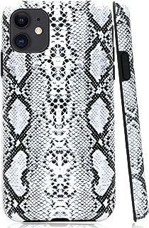 iPhone 11 Case, Lartin Soft Flexible Jellybean Gel Case for iPhone 11 6.1 inch 2019 (Cool Snake Skin)