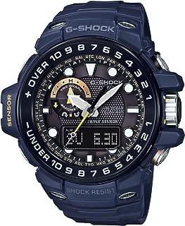 [カシオ] 腕時計 ジーショック ガルフマスター Master in NAVY BLUE 世界6局対応電波ソーラー GWN-1000NV-2AJF ブルー