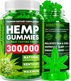 Hemp Gummies 300000 – Premium Stress & Anxiety Relief – Made in USA..