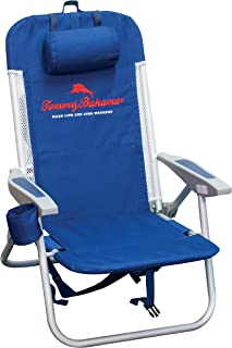 Tommy Bahama ASC543TB-63-1 Mesh Trim with Cooler Folding Backpack Beach Chair