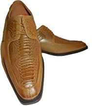 Antonio Cerrelli 6536 Mens Scotch Brown Dressy Oxford Fashion Shoes with Modern Toe