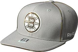 NHL Men's SP17 Gray Camo Structured Flex Cap