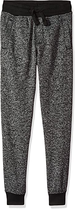 SOUTHPOLE Boy's Basic Marled Fleece Jogger Pants