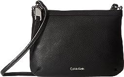 Calvin Klein - Carrie Pebble Key Item Crossbody