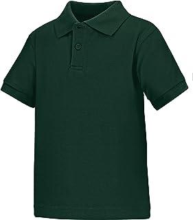 Classroom School Uniforms Unisex Kids Toddler Unisex Short Sleeve Interlock Polo Polo Shirt
