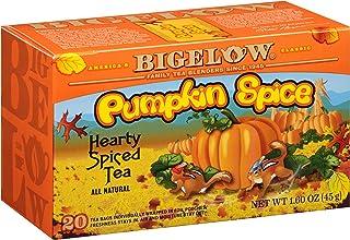 Bigelow Pumpkin Spice Black Tea Bags, 18 Count Box (Pack of 6), Caffeinated Black Tea, 108 Tea Bags Total