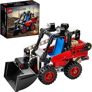 LEGO Technic 42116 Miniładowarka — w sam raz dla dzieci, które uwielbiają zabawkowe pojazdy budowlane (139 elementów)