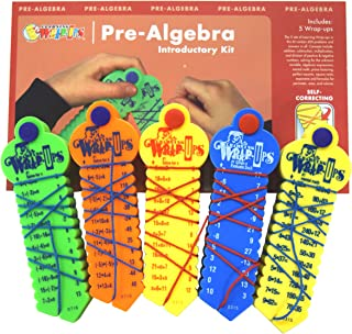 Learning Wrap-ups Pre-Algebra Intro Kit Self Correcting Math Problems