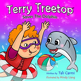 TERRY TREETOP SAVES THE DOLPHIN (The Terry Treetop Series Book 4) (English Edition)