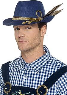 Smiffy 's 45400Authentic Bavarianオクトーバーフェスト帽子(サイズ1)