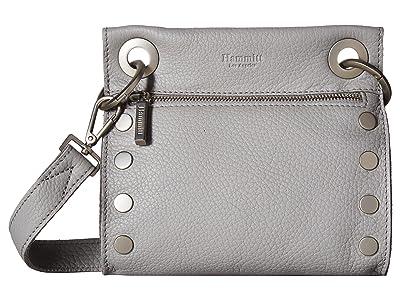 Hammitt Tony Small (Mist/Pebbled/Brushed Silver) Cross Body Handbags