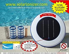 solar powered pool skimmer for sale