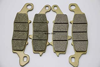 Master Chen Front Rear Brake Pads Brakes for Kawasaki VN 1500 Vulcan Classic N E VN 900 FA231F FA229R MC0145-PAD